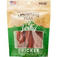 Prairie Dog Mountain Peak Jerky Chicken Dog Treats, 10-oz bag