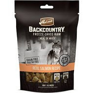 Merrick Backcountry Freeze-Dried Raw Real Salmon Recipe Grain-Free Freeze-Dried Dog Food, 5.5-oz bag