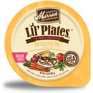 Merrick Lil' Plates Grain-Free Petite Pot Pie in Gravy Dog Food Trays, 3.5-oz, case of 12