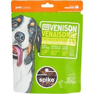 Spike Venison Grain-Free Jerky Dog Treats, 4-oz bag