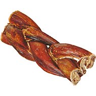 "Bully Sticks Braided 5"" Dog Treats, 1 count"