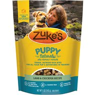 Zuke's Puppy Naturals Lamb & Chickpea Recipe Dog Treats