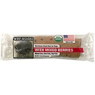 Wet Noses Berry Blast Bar Dog Treats, 1.5-oz bar