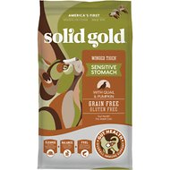 Solid Gold Winged Tiger with Quail & Pumpkin Grain-Free Sensitive Stomach Adult Dry Cat Food
