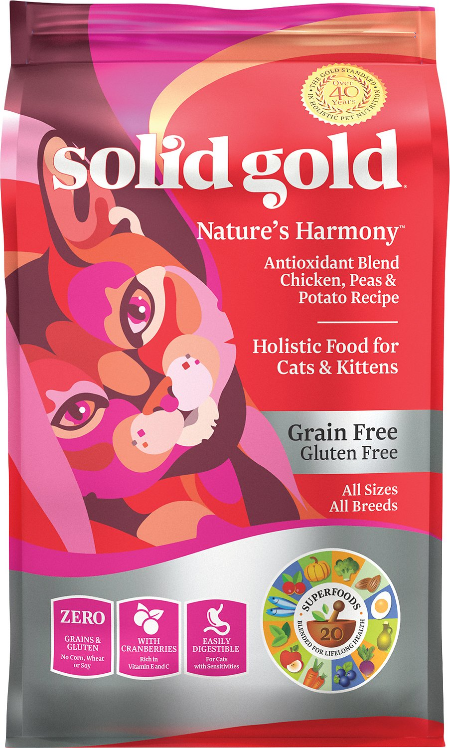 Solid Gold Natures Harmony Cat Food Reviews