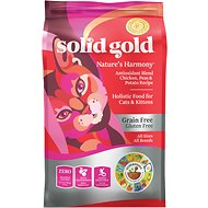 Solid Gold Nature's Harmony: Antioxidant Blend Chicken, Peas & Potato Recipe Grain-Free Dry Cat Food, 6-lb bag