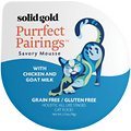 Solid Gold Purrfect Pairings Savory Mousse with Chicken & Goat Milk Grain-Free Cat Food Cups