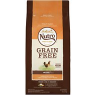 Nutro Grain-Free Adult Farm Raised Chicken, Lentils & Sweet Potato Recipe Dry Dog Food, 4-lb bag