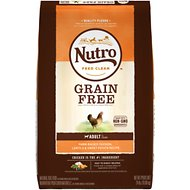 Nutro Grain-Free Adult Farm Raised Chicken, Lentils & Sweet Potato Recipe Dry Dog Food, 24-lb bag