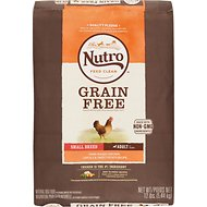 Nutro Grain-Free Small Breed Adult Farm Raised Chicken, Lentils & Sweet Potato Recipe Dry Dog Food, 12-lb bag