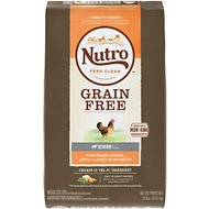 Nutro Grain-Free Senior Farm Raised Chicken, Lentils & Sweet Potato Recipe Dry Dog Food, 24-lb bag