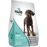 Nulo FreeStyle Grain-Free Turkey & Sweet Potato Recipe Puppy Dry Food, 4.5-lb bag