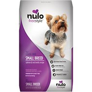 Nulo FreeStyle Grain-Free Small Breed Salmon & Red Lentils Recipe Dry Dog Food, 11-lb bag
