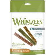 WHIMZEES Stix Dental Dog Treats, Large, 7 count