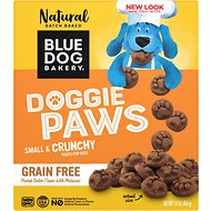 Blue Dog Bakery Grain-Free Paws Peanut Butter & Molasses Flavor Dog Treats, 16-oz box