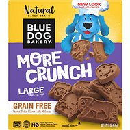 Blue Dog Bakery Peanut Butter & Molasses Grain-Free Dog Treats, 16-oz box