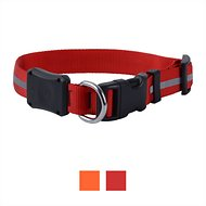 Nite Ize NiteDawg LED Light-Up Dog Collar, Red, Large