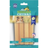 Himalayan Dog Chew Yaky Churro Himalayan Cheese Dog Treats, 4 count