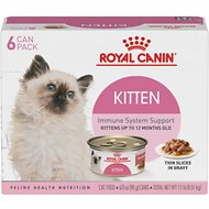 Royal Canin Feline Health Nutrition Thin Slices in Gravy Canned Kitten Food, 3-oz, case of 6