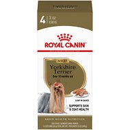 Royal Canin Yorkshire Terrier Adult Canned Dog Food, 3-oz, pack of 4