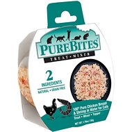 PureBites Mixers 100% Chicken Breast & Shrimp in Water Grain-Free Cat Food Trays, 1.76-oz, case of 12