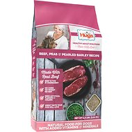 Paula Deen Hugs Premium Select Beef, Peas & Pearled Barley Dry Dog Food, 4.5-lb bag