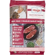 Paula Deen Hugs Premium Select Beef, Peas & Pearled Barley Dry Dog Food, 12-lb bag
