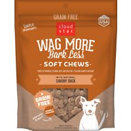 Cloud Star Wag More Bark Less Grain-Free Soft & Chewy with Savory Duck Dog Treats
