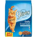9 Lives Daily Essentials with Chicken, Beef & Salmon Flavor Dry Cat Food