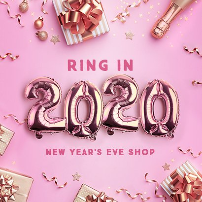 New Year's Eve Shop